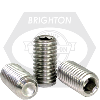"""#0-80x1/8"""" SOCKET SET SCREWS CUP POINT FINE STAINLESS A2 18-8"""