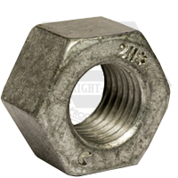 "1 1/2""-6 HEAVY HOT DIP GALVANIZED HEX NUTS A194 / SA 194 2H HEAVY COARSE HDG"