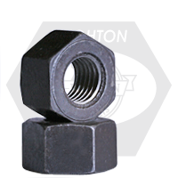 "1 1/2""-6 A194 / SA 194 2H HEAVY HEX NUTS COARSE MED. CARBON PLAIN"