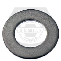 """#10x7/16""""x0.050 FLAT WASHERS STAIN A2 18-8 MS15795-808"""