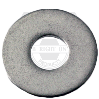 """#10x9/16""""x0.040 FLAT WASHERS STAIN A2 18-8 N400"""