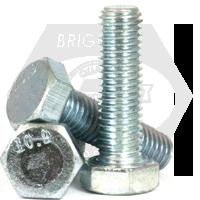 M16-2.00x170 MM,(PT) DIN931 / ISO4014 HEX CAP SCREWS 10.9 COARSE ALLOY ZINC CR+3