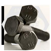 M12-1.75x65 MM,(PT),DIN 931 HEX CAP SCREWS 10.9 DIN 931 COARSE ALLOY PLAIN