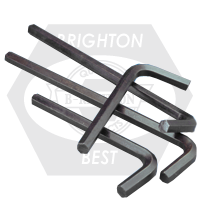 "1/4"" HEX KEYS ALLOY 8650 SHORT ARM U.S.A."