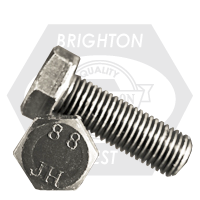 M12-1.75x75 MM,(FT) HEX CAP SCREWS 8.8 DIN 933 COARSE MED. CARBON PLAIN