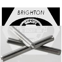 M2.5x6 MM SPRING PINS MED. CARBON BLACK OXIDE