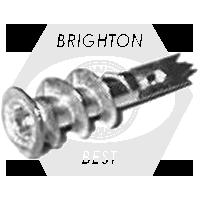 1/2 x 1-5/8 E-Z Anchor Mini White Nylon for use w/#6, 7, & 8 Screws