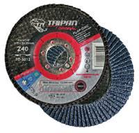 "5"" x 5/8-11"" Type 29, 80-Grit Zirconia Conical Flap Disc Flap Disc Type 29"