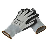 L BLACK NITRILE / GRAY LINER PROFERRED INDUSTRIAL GLOVES