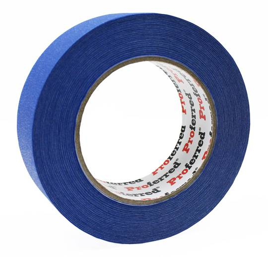 1.41IN X 60YD (55M), 0.13MM (5.1MIL) PROFERRED BLUE PAINTERS TAPE