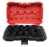 "16 PIECE 6 POINT IMPACT Metric PROFERRED 1/2"" DRIVE IMPACT METRIC SOCKET SET"