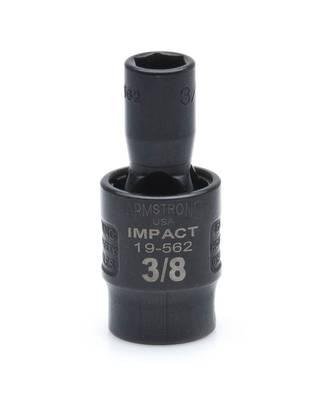 "1/2"" SWIVEL IMPACT 6 Point SAE USA IMPACT 3/8"" DRIVE SAE SOCKET"