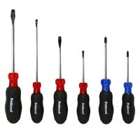 6 Piece PROFERRED ACETATE SCREWDRIVER SETS